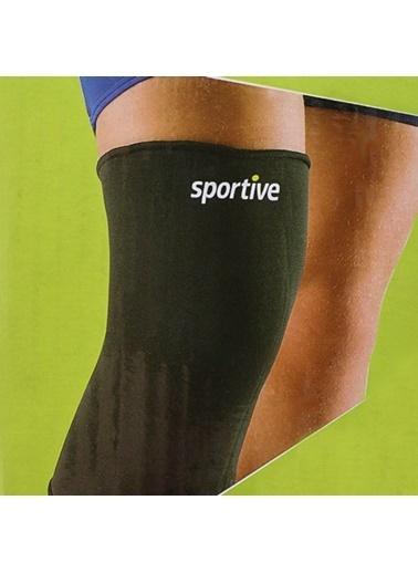 Sportive Dizlik Siyah